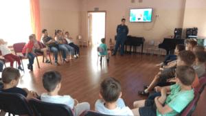 Урок безопасности для «Московской смены 2019»