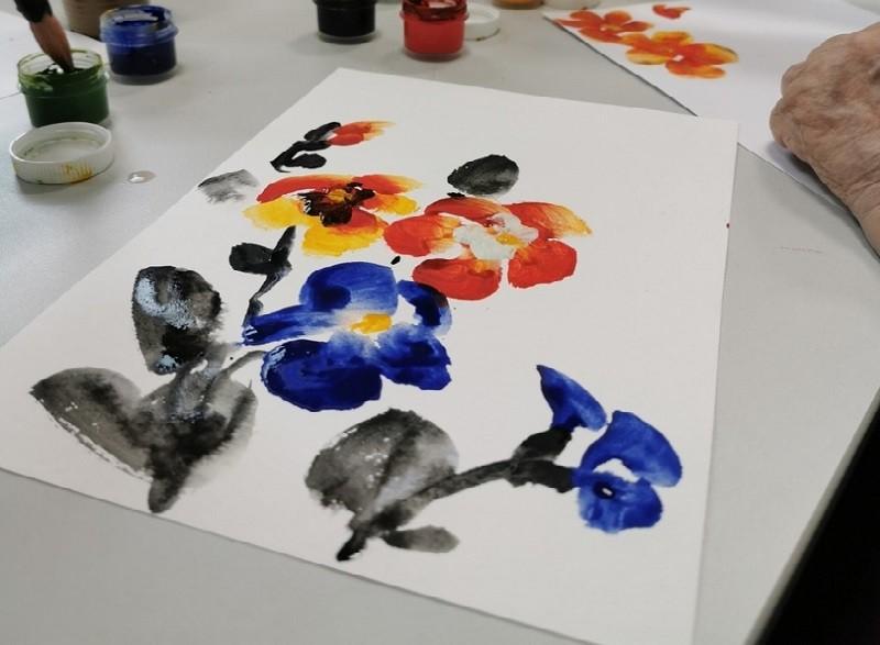 В Бирюлеве Западном прошел открытый урок по китайской живописи