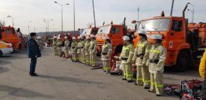 В Южном административном округе  на прошлой неделе состоялся смотр техники добровольных пожарных дружин!