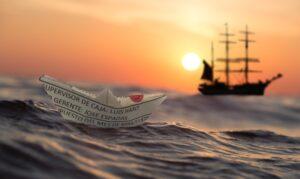 Мастер-класс по изготовлению кораблика провел «Центр культуры и спорта»