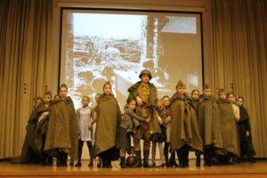 Театр танца «Миниатюра» школы № 2001 поздравил ветеранов