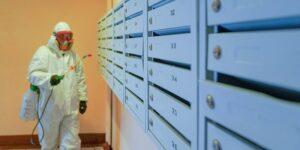 Дезинфекция против распространения коронавируса продлена на месяц