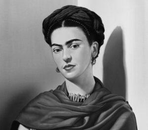 В библиотеке № 160 опубликовали статью о Фриде Кало