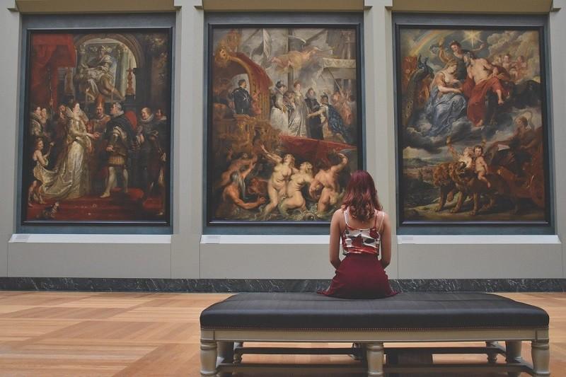 В библиотеке № 160 опубликовали статью о современном искусстве