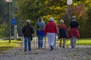 Тренер по скандинавской ходьбе в Бирюлеве Западном рассказала о ее пользе